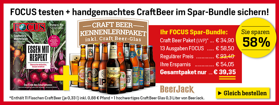 FOCUS - Beejack Craft Beer