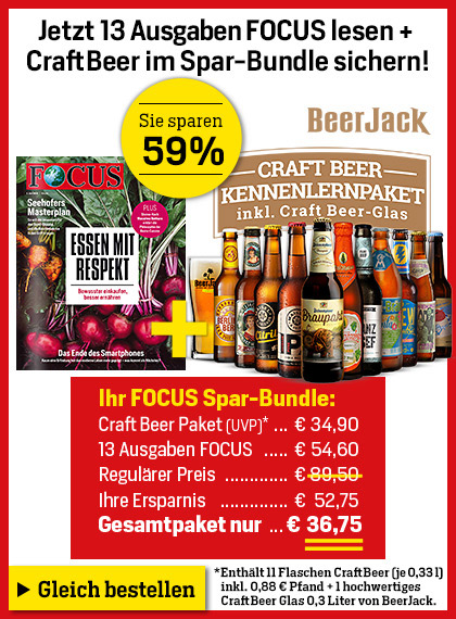 FOCUS - Beerjack Craft Beer Paket