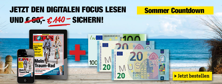 FOCUS digital Sommercountdown 2017