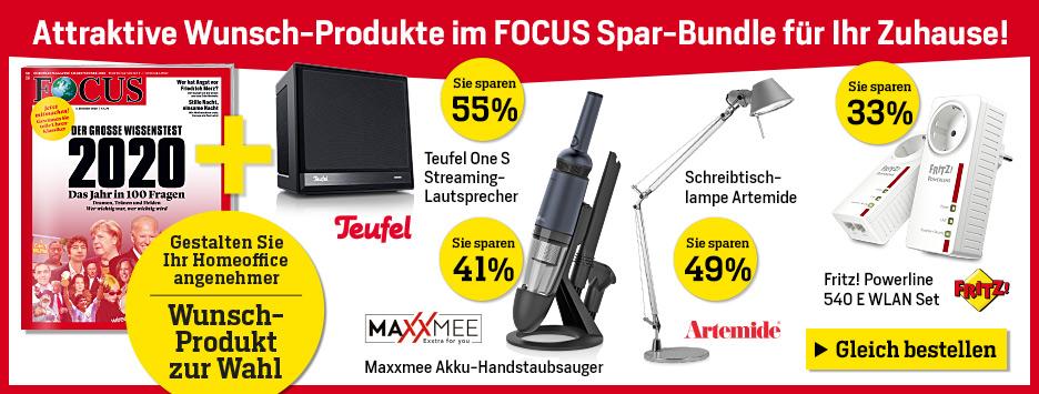 FOCUS Spar-Bundle Angebot Dezember 2020