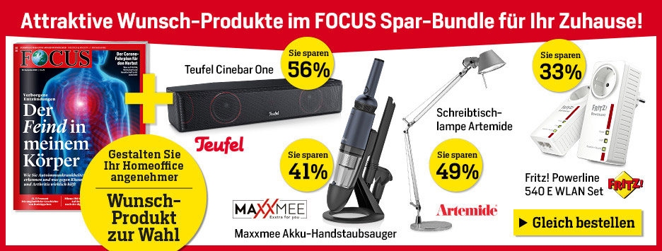 FOCUS Spar-Bundle Angebot November 2020