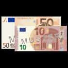 60 EUR Verrechnungsscheck.