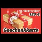 120 EUR Media Markt Geschenkkarte