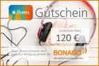 120 EUR iTunes Gutschein