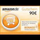 90 EUR Amazon.de Gutschein