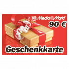 90 EUR Media Markt Geschenkkarte