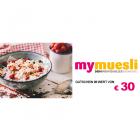 30 EUR mymuesli Gutschein