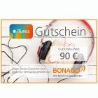 90 EUR iTunes Gutschein