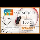100 EUR iTunes Gutschein