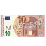 10 EUR Verrechnungsscheck