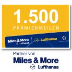 1.500 Miles & More Prämienmeilen