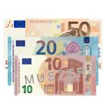 80 EUR Verrechnungsscheck