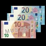 50 EUR Verrechnungsscheck