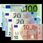 150 EUR Verrechnungsscheck