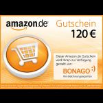 120 EUR Amazon.de Gutschein