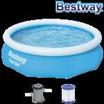 Bestway Fast Set Pool mit Filterpumpe