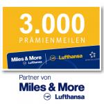 3.000 Miles & More Prämienmeilen
