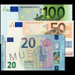 170 EUR Verrechnungsscheck