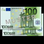 Verrechnungsscheck über 200€