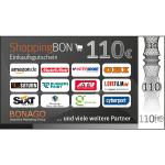BONAGO ShoppingBON über 110 EUR