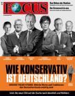 FOCUS -WIE KONSERVATIV IST DEUTSCHLAND? - aktuelle Ausgabe 50/2018