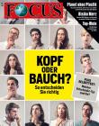 FOCUS - Kopf oder Bauch? So entscheiden Sie richtig - aktuelle Ausgabe 47/2018