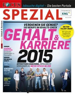 FOCUS-SPEZIAL - Gehalt & Karriere 2015