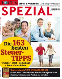 FOCUS-SPEZIAL - Deutschlands Top-Steuerberater