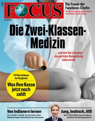 FOCUS - aktuelle Ausgabe 18/2017