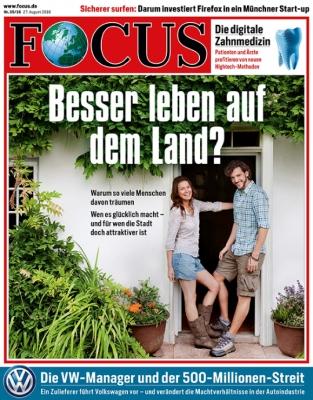FOCUS - aktuelle Ausgabe 35/2016