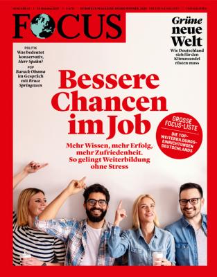 FOCUS - BESSERE CHANCEN IM JOB - aktuelle Ausgabe 43/2021