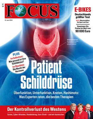 FOCUS - Patient Schilddrüse - aktuelle Ausgabe 17/2018