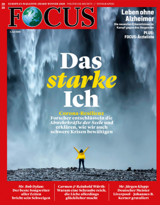 FOCUS - DAS STARKE ICH - aktuelle Ausgabe 28/2020
