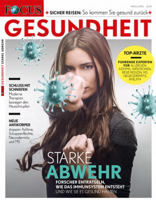 FOCUS GESUNDHEIT - aktuelle Ausgabe 02/2019