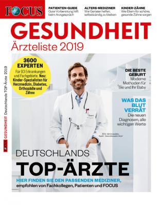FOCUS GESUNDHEIT - aktuelle Ausgabe 04/2019