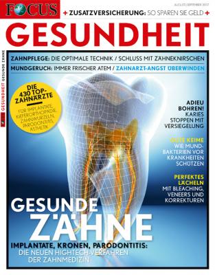 FOCUS GESUNDHEIT - aktuelle Ausgabe 05/2017