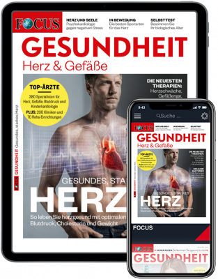 FOCUS-GESUNDHEIT digital - aktuelle Ausgabe
