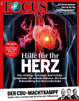 FOCUS - Hilfe für Ihr Herz - aktuelle Ausgabe 08/2020