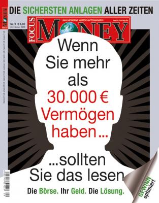 FOCUS-MONEY - aktuelle Ausgabe 09/2019