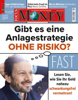 FOCUS-MONEY - aktuelle Ausgabe 21/2019