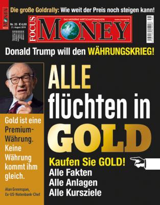 FOCUS-MONEY - aktuelle Ausgabe 35/2019