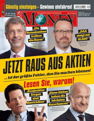 FOCUS-MONEY - aktuelle Ausgabe 39/2019