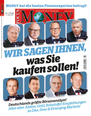 FOCUS-MONEY - aktuelle Ausgabe 03/17