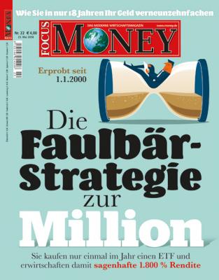 FOCUS-MONEY - aktuelle Ausgabe 22/2018