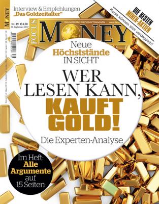 FOCUS-MONEY - aktuelle Ausgabe 39/17