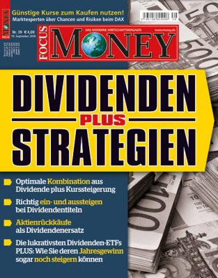 FOCUS-MONEY - aktuelle Ausgabe 39/2018