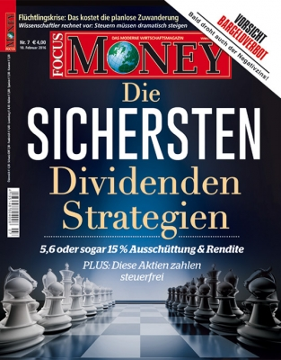 FOCUS-MONEY - aktuelle Ausgabe 07/2016