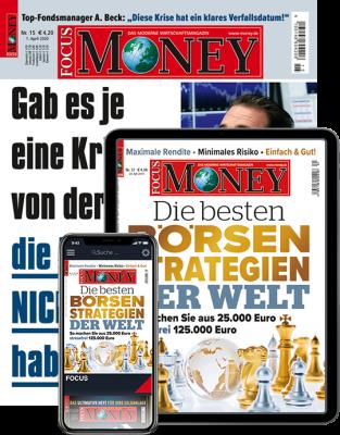 FOCUS-MONEY Print + Digital