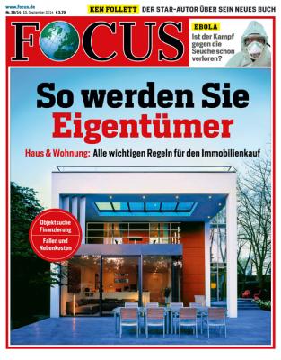 FOCUS - aktuelle Ausgabe 38/2014