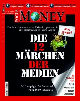 FOCUS-MONEY - aktuelle Ausgabe 39/2014